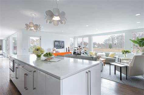 modern kitchen in roaton ct kitchen design center open kitchens four ways modern refined organic and