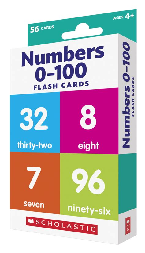 Scholastic Store Gift Card - scholastic number flash cards school specialty marketplace
