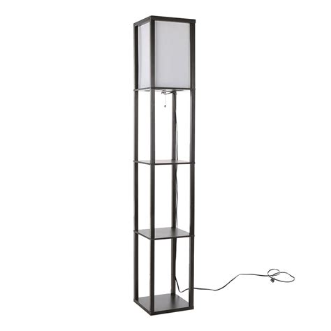 Shelf Floor L Shelf Floor L Large Floor L With Attached Shelf In The Style Of Dunbar Or Paul Mccobb For Sale