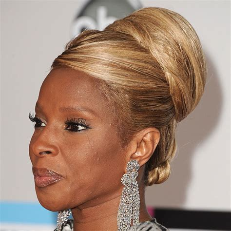 J Blige Hairstyles by Hairstyle File J Blige Essence