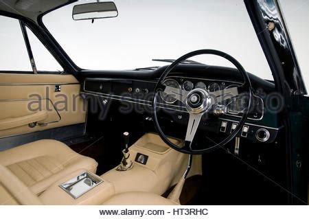Maserati Driving Gloves by Interior Of A Classic Maserati Sebring Sports Car With