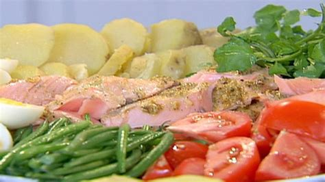 ina garten nicoise roasted salmon nicoise platter recipes food network uk