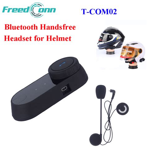 Jual Headset Bluetooth Helmet freedconn t com02 waterproof motorcycle handfree helmet