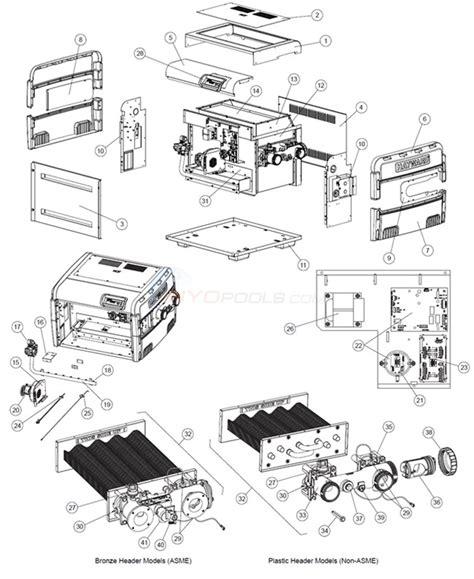 hayward pool parts diagram hayward commercial asme parts inyopools