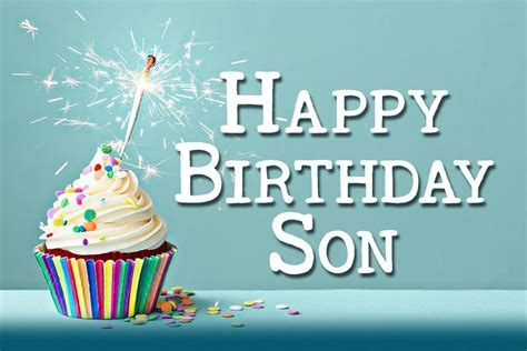 Birthday Wishes For Son   Inspiring Birthday Messages