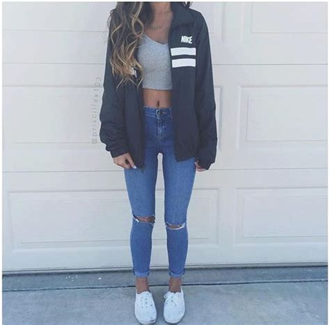Crope Jaket Light Grey jacket nike black navy grey nike jacket grey