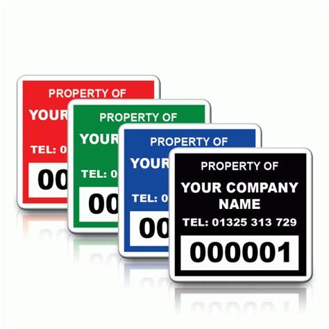 design labels online uk personalised mini budget asset id labels pat labels online