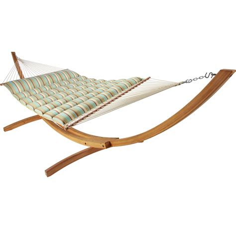 Hatteras Hammocks Hatteras Hammocks Bay Stripe Pillowtop Hammock