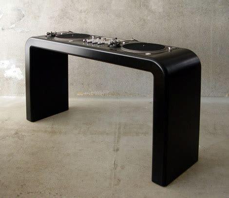 wooden dj table metrofarm dj deck gearculture