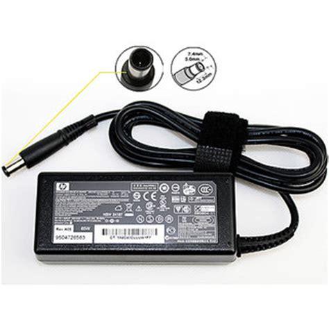 Adaptor Charger Hp 18 5v 3 5a Original hp genuine original 18 5v 3 5a 65w adapter charger big pin smart pin