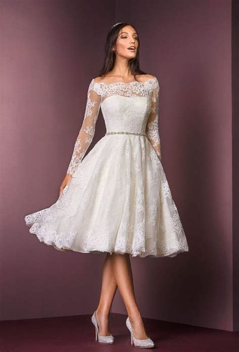 2nd wedding dresses near me best 25 knee length wedding dresses ideas on