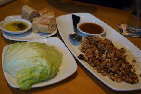 lettuce wraps foto di california pizza kitchen las