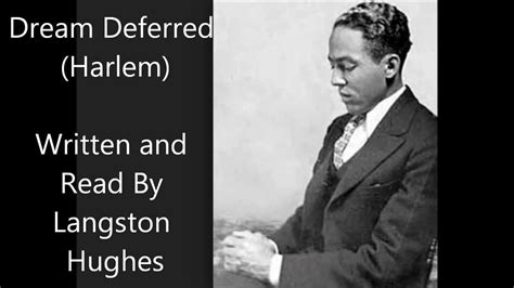 biography of langston hughes and the harlem renaissance quot dream deferred harlem quot langston hughes poem example of