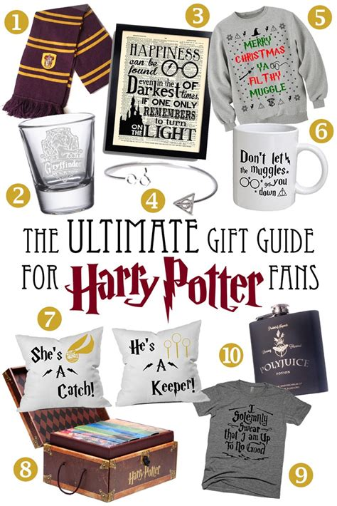 gifts to give a harry potter fan the ultimate gift guide for harry potter fans the blonde