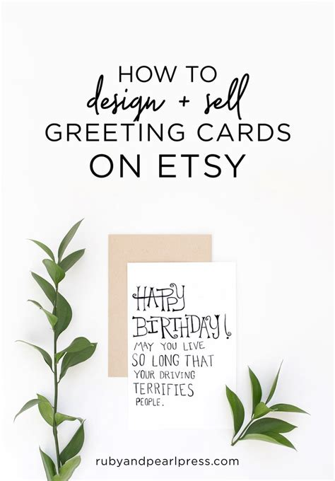 How To Sell Card Designs