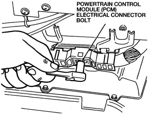repair guides electronic engine controls powertrain control module autozone com