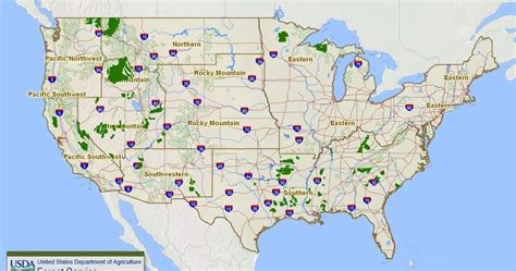 us forest service maps rubicon4wheeler u s forest service s interactive travel map