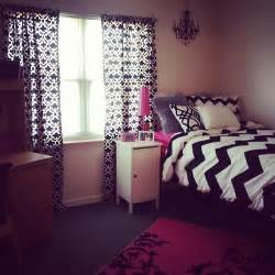 Pink Black And White Bedroom Ideas Dorm Rooms Amp Decor