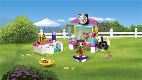 lego friends puppy lego 41302 quot puppy pering quot building co uk toys