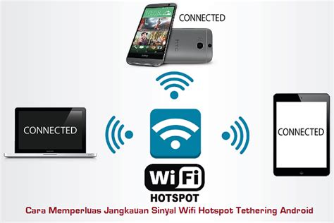 Wifi Langganan cara memperluas jangkauan sinyal wifi hotspot tethering