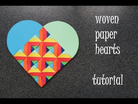 How To Make Woven Paper Hearts - woven paper hearts tutorial dutchpapergirl