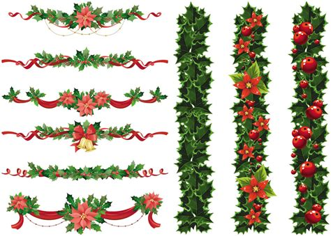 christmas decorative borders clip art 64