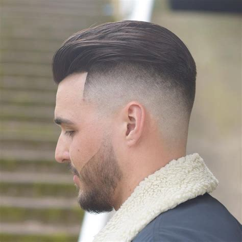 haircuts faded back slick back fade hairstyle fade haircut