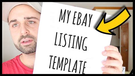 Two Ebay Clothing Templates How To Organize Clothing Inventory Listing Advice Youtube Ebay Clothing Template