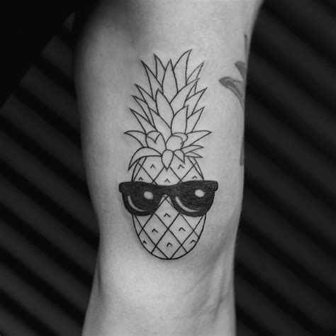 glasses tattoo pineapple sunglasses see this instagram photo by