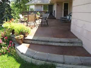stained sted concrete patio concrete acid staining minneapolis decorative concrete