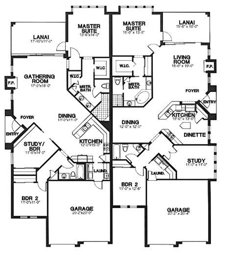 multi family plans multi family plan 58966 at familyhomeplans com