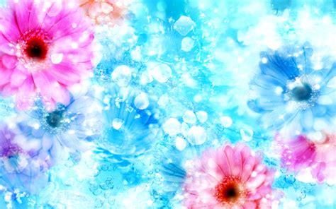 wallpaper flower pastel flower 06 artistic pastel versionone114627