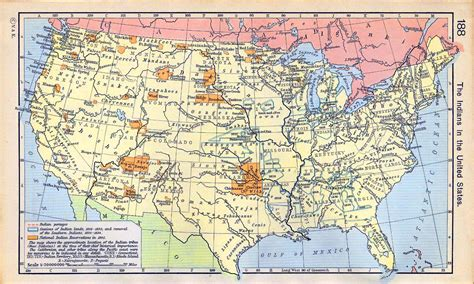 american natives map historical map of the united states americans