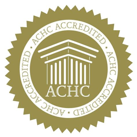 Infinity Homecare Infinity Homcare Proudly Recieves The Achc Gold Seal