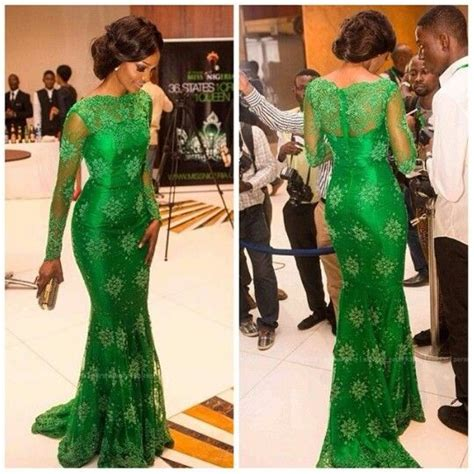 green lace nigerian women designs for weddings 1000 images about bridesmaids dresses on pinterest