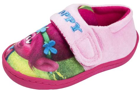 princess slippers pink princess poppy slippers trolls mules easy