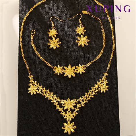 Kalung Xuping Murah 18 12 E beli set lot murah grosir set