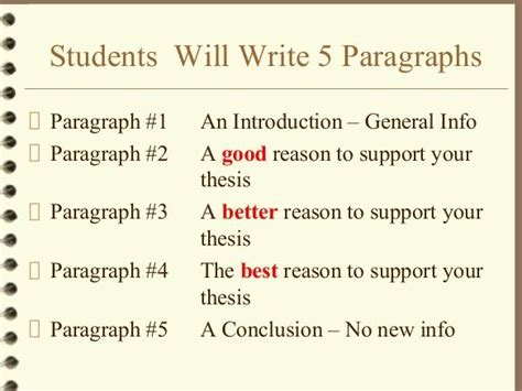 Write 5 Paragraph Essay by How To Write A 5 Paragraph Essay