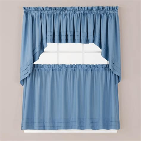 curtain t saturday knight semi opaque holden 24 in l polyester tier