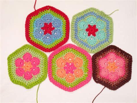 crochet pattern african flower heidi bears african flower hexagon crochet tutorial