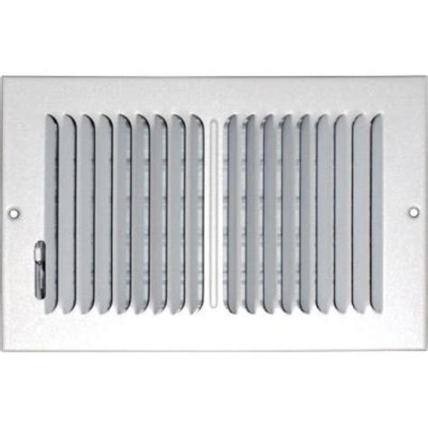 Ceiling Air Vents Home Depot by Speedi Grille 8 In X 10 In Ceiling Sidewall Vent