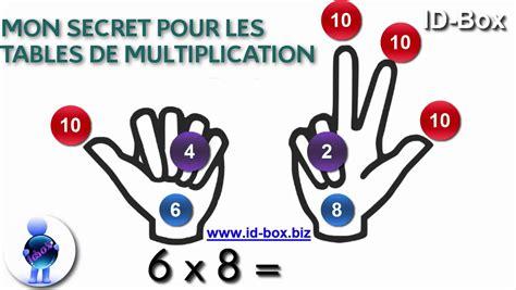 astuce math connaitre ses tables de multiplication sans