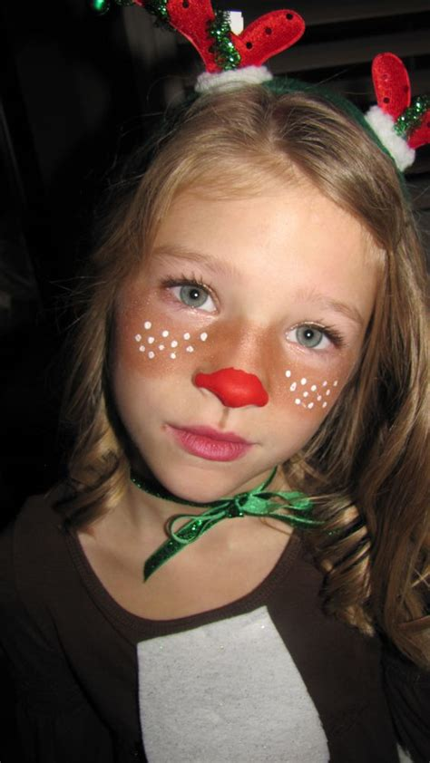 quick rudolph face bronzer for brown cheeks and acrylic