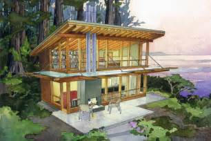 Large Tiny House Plans Modern Style House Plan 1 Beds 1 Baths 727 Sq Ft Plan