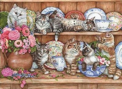 anatolian jigsaw puzzle kittens debbie cook  pcs cats