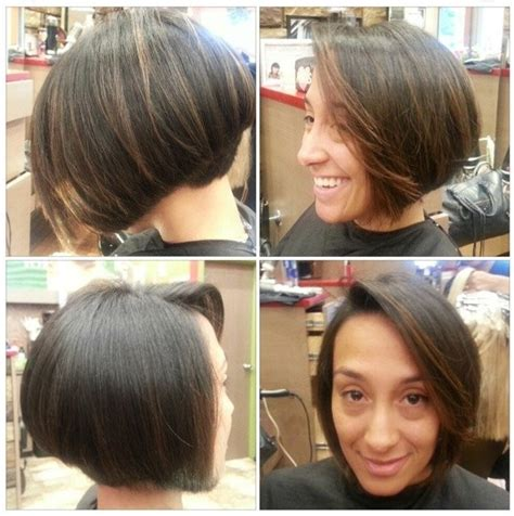 graduated bobs 2015 before and after haircuts for women pinterest