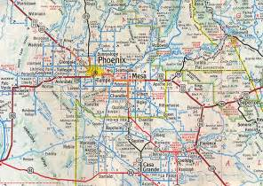 arizona city limits map map of arizona my
