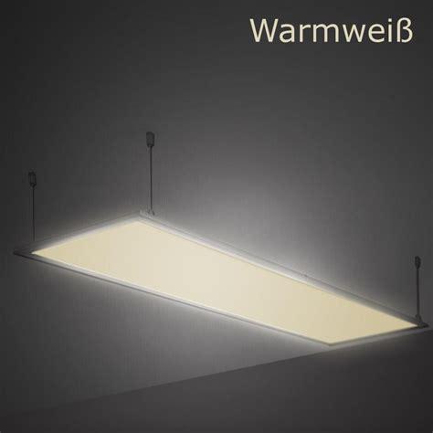 Original Panel Led 25 Watt Warm White Bulat Besi Inbow 120x30cm Led Panel Wandleuchte Leuchte Einbau Decken Le