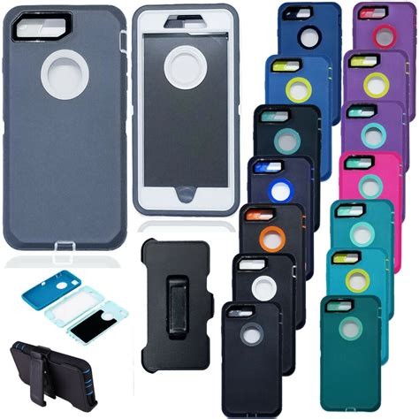 hybrid case cover  iphone   belt clip fits