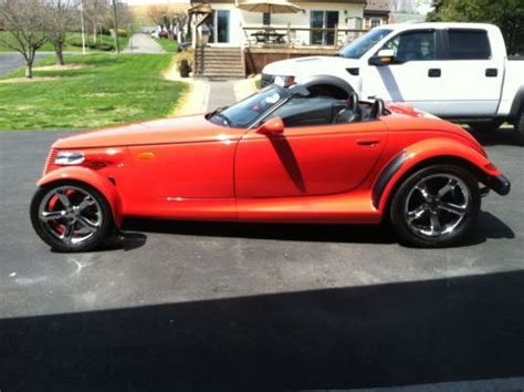 how cars run 2000 plymouth prowler on board diagnostic system find used 2000 plymouth prowler in chilhowie virginia united states